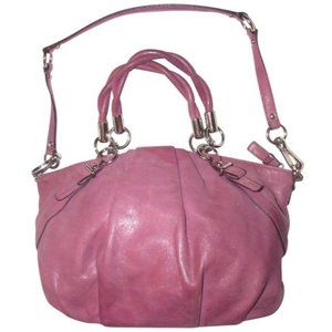 COACH Vintage Buttery Soft Glittery 2-Way Bag